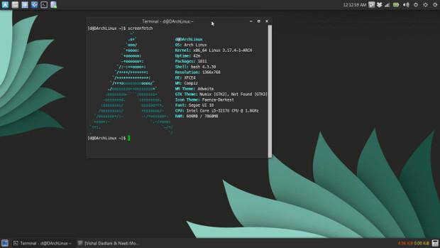 Arch Linux是最出名的滚动更新的 Linux桌面发行版